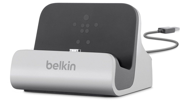 Belkin Charge + Sync Dock (F8M389bt) - док-станция для смартфонов Samsung (Silver)