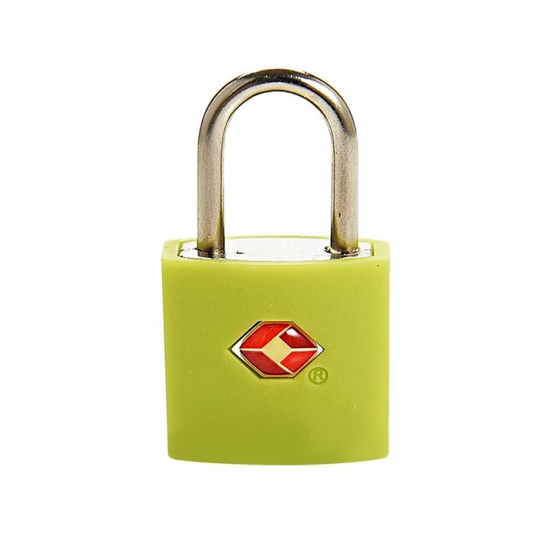 Замок навесной для багажа Travel Blue TSA Identi Lock, цвет зеленый