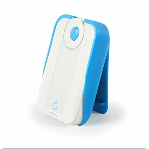 Клипса Bluetens Clip для крепления на ремень для миостимулятора Bluetens. Материал пластик. Цвет синий.