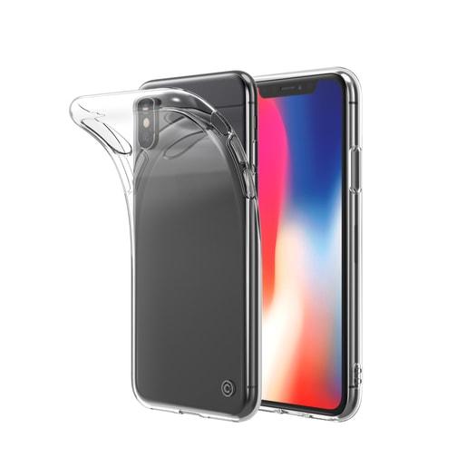 Чехол LAB.C Slim Soft для iPhone XS/X. Материал пластик. Цвет прозрачный.