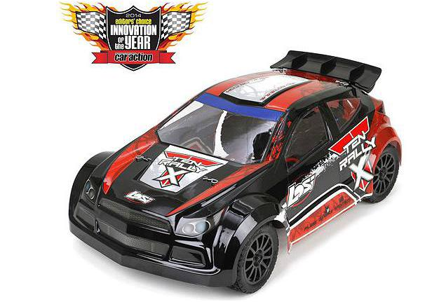 Team Losi Радиоуправляемая машина Ралли 1/10 - LOSI TEN Rally-X RTR с системой стабилизации AVC