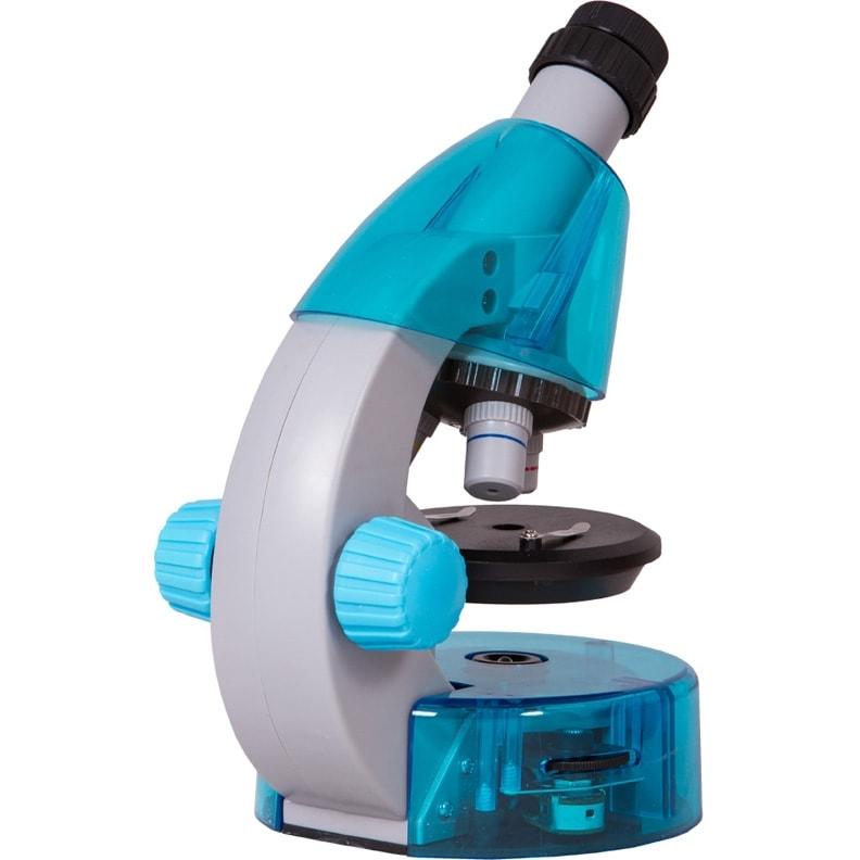 Микроскоп Levenhuk LabZZ M101 Azure (Лазурь)