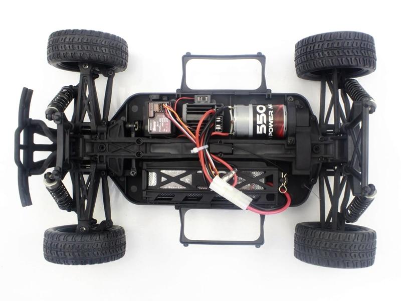 Iron Track Радиоуправляемая машина Шорткорс 1/10 4WD Электро - Iron Track Hummer RTR, Влагозащита, Аккумулятор, З/У
