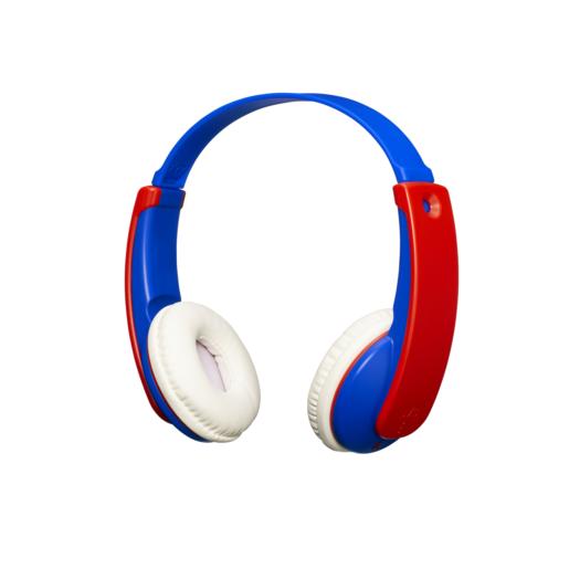 Наушники JVC беспроводные детские, модель HA-KD9BT-A-E, серия KIDS - Bluetooth. Цвет: синий/красный JVC Наушники беспроводные детские, модель HA-KD9BT-A-E, серия KIDS - Bluetooth. Цвет: синий/красный