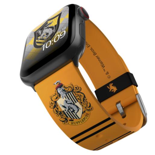 Ремешок MobyFox Harry Potter - Hufflepuff, оранжевый (для Apple Watch, все размеры)