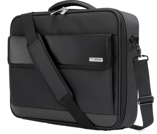 "Belkin Clamshell (F8N204EA) - сумка для ноутбука 15.6"" (Black/Red)"