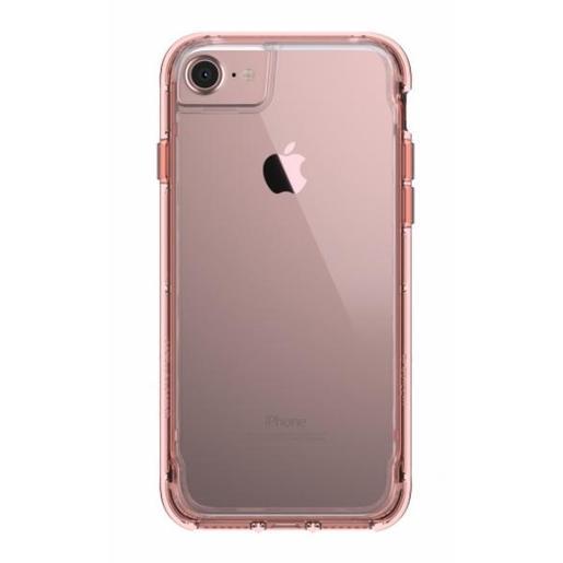 Чехол Griffin Survivor Clear для iPhone 8/7/6s/6. Материал пластик. Цвет розовое золото/прозрачный.