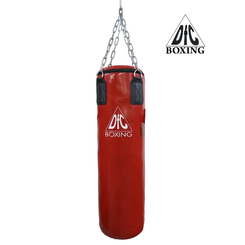 Боксёрский мешок DFC HBPV3.1 красный 120х30