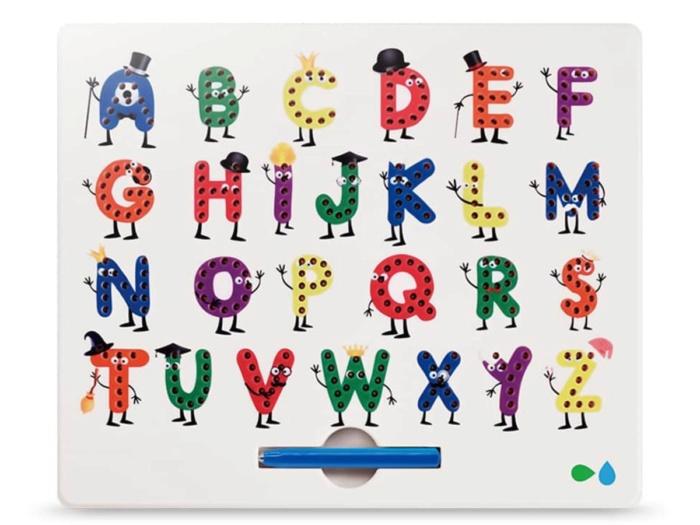 Планшет для рисования магнитами Magboard Алфавит English