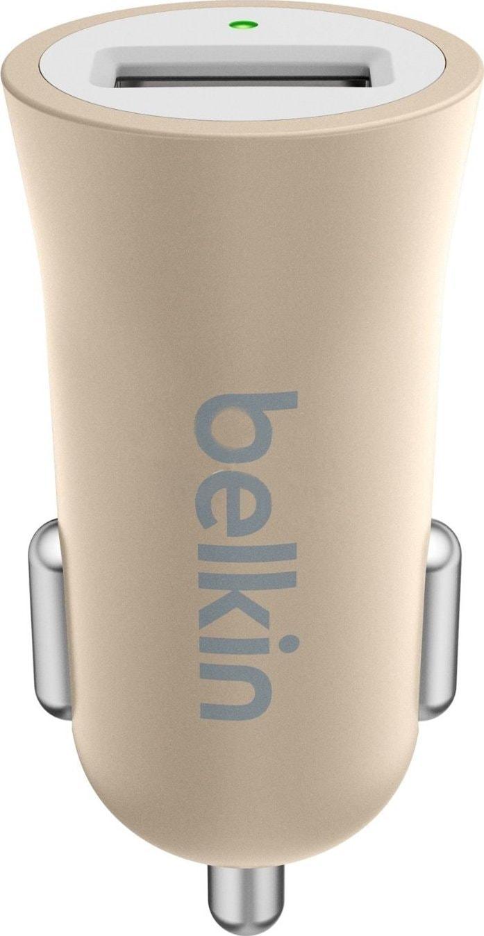 Belkin Universal Car Charger (F8M730BTGLD) - автомобильное зарядное устройство (Gold)