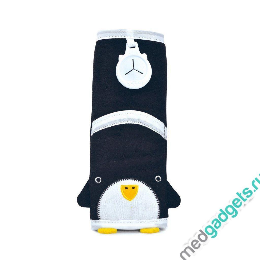 Накладка-чехол для ремня безопасности в авто, пингвин Pippin Trunki