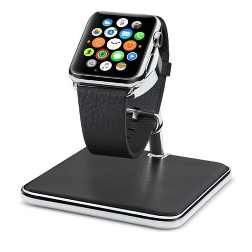Подставка Twelve South Forte для Apple Watch. Материал хромированная сталь.Цвет: черный/хром.