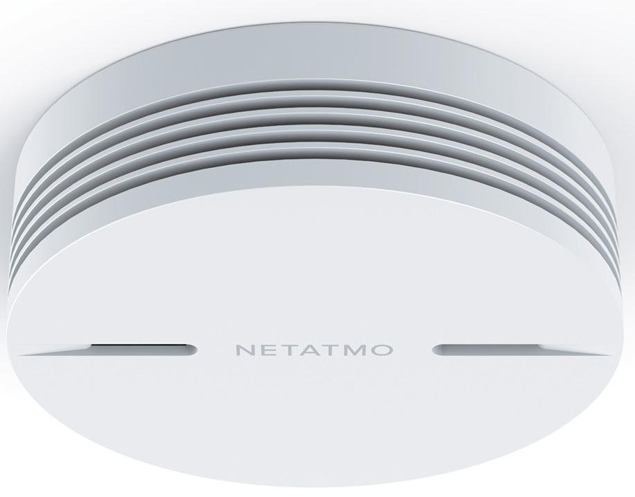 Датчик дыма Netatmo Smart Smoke Alarm (White)