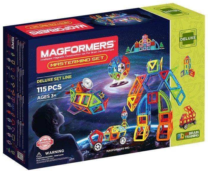 Магнитный конструктор Magformers Deluxe Mastermind Set (710012)