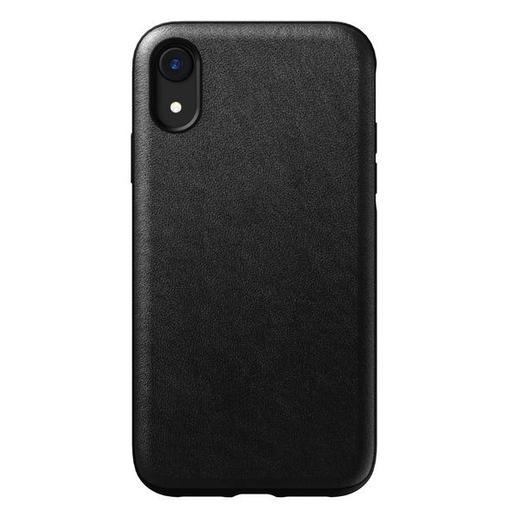 Чехол Nomad Rugged Leather Case для iPhone XR. Материал кожа натуральная. Цвет черный.