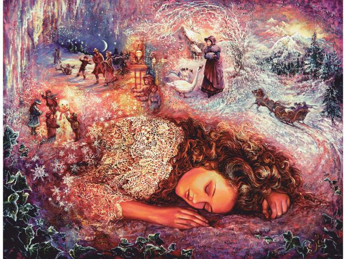 Деревянный пазл DaVICI Зимние сны