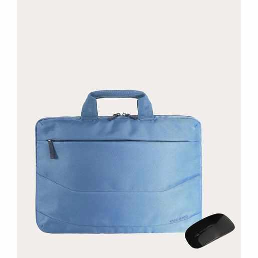 "Рюкзак Tucano Borsa Idea PC bag 15.6"" + MOUSE, цвет синий"