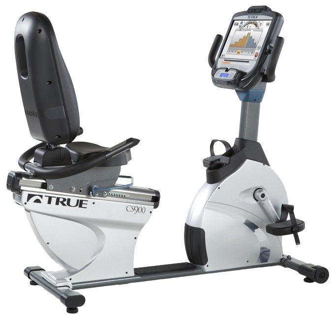 Горизонтальный велотренажер True Fitness CS900R-X15TFT