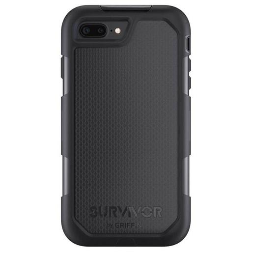 Чехол Griffin Survivor Summit для iPhone 7 Plus. Материал пластик. Цвет черный.