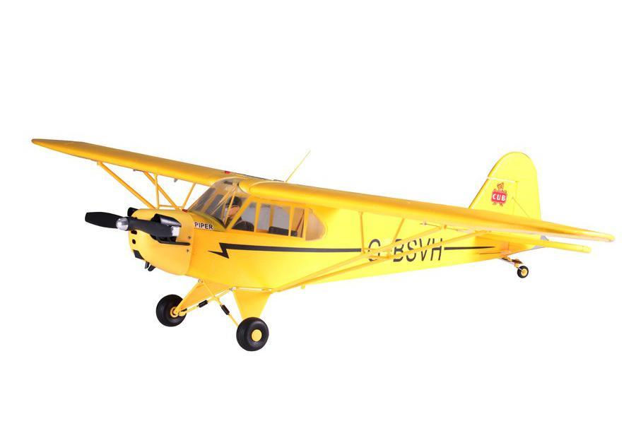 FMS Радиоуправляемый Самолет - J3 Cub RTF 1400мм
