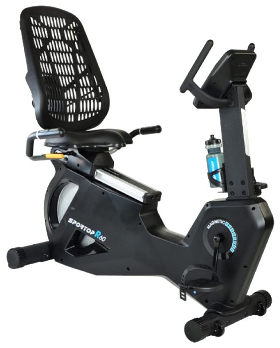 Горизонтальный велотренажер Sportop R60
