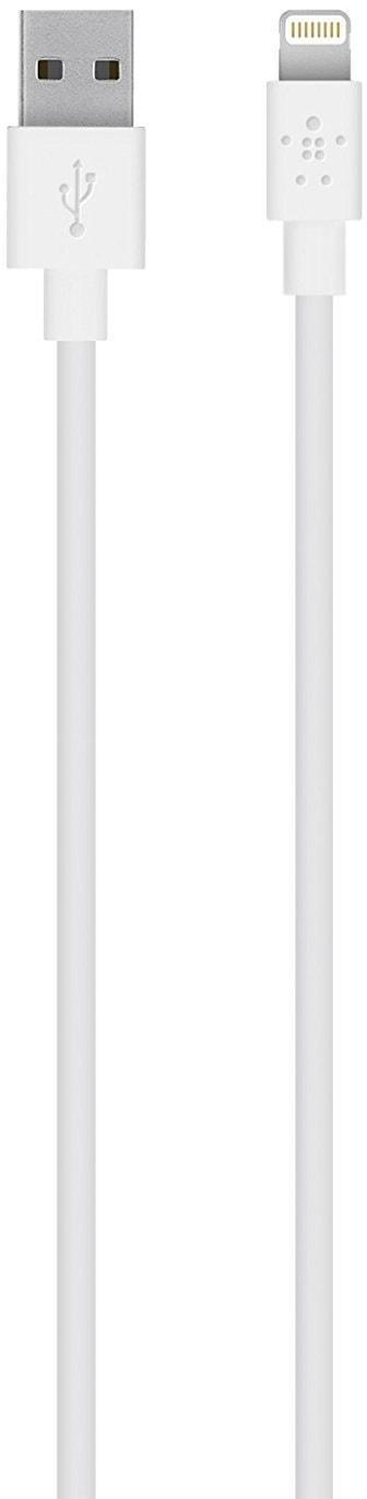 Belkin Mixit UP 1.2 м (F8J023BT04-WHT) - кабель USB-Lightning (White)