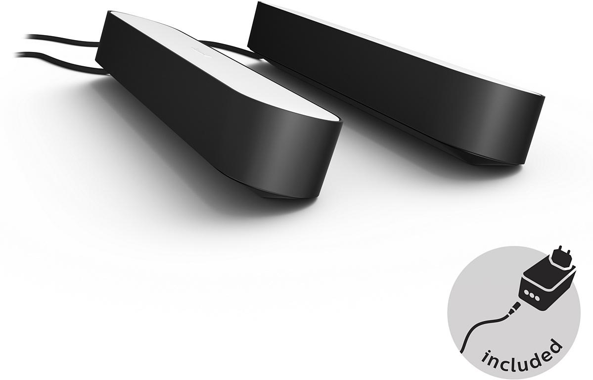 Комплект умных ламп Philips Hue Play 2 шт (Black)