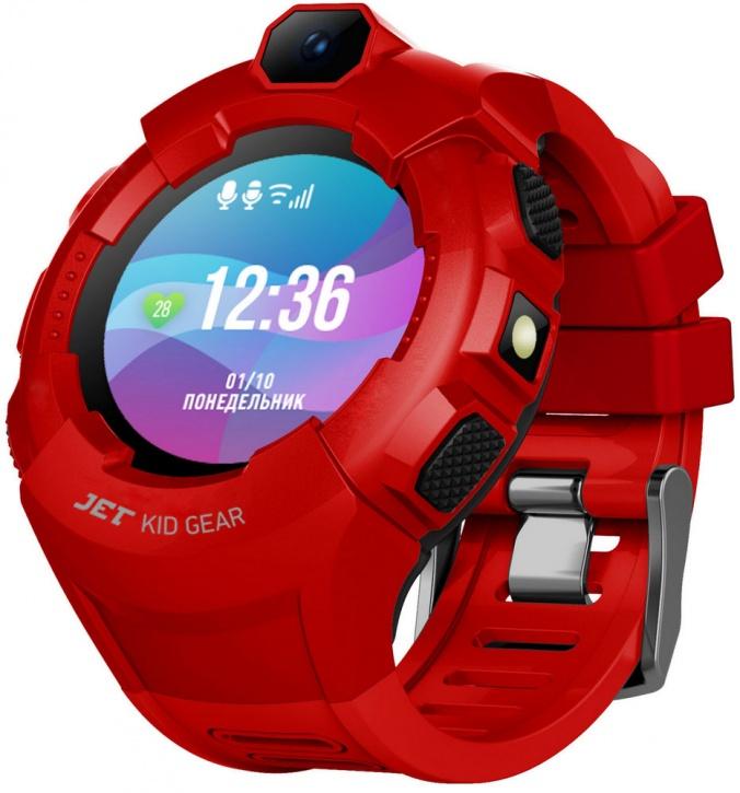 Детские умные часы Jet Kid GEAR (Red/Black)