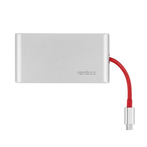 USB Type-C Хаб Rombica Type-C Hermes. Цвет: красный.