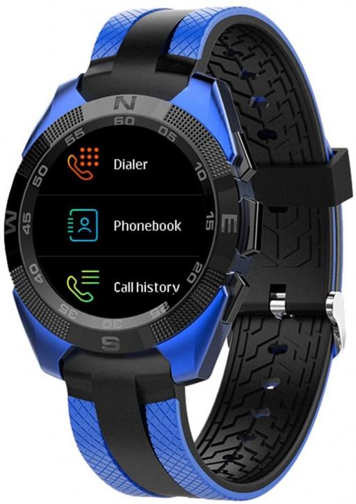 Спортивные часы Jet Sport SW7 (Black/Blue)