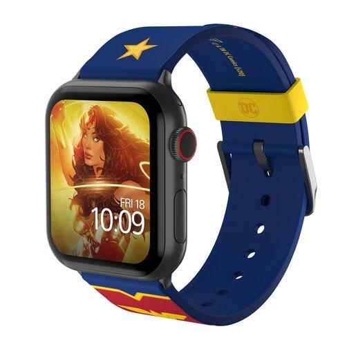 Ремешок MobyFox DC WonderWoman Logo, синий (для Apple Watch, все размеры)