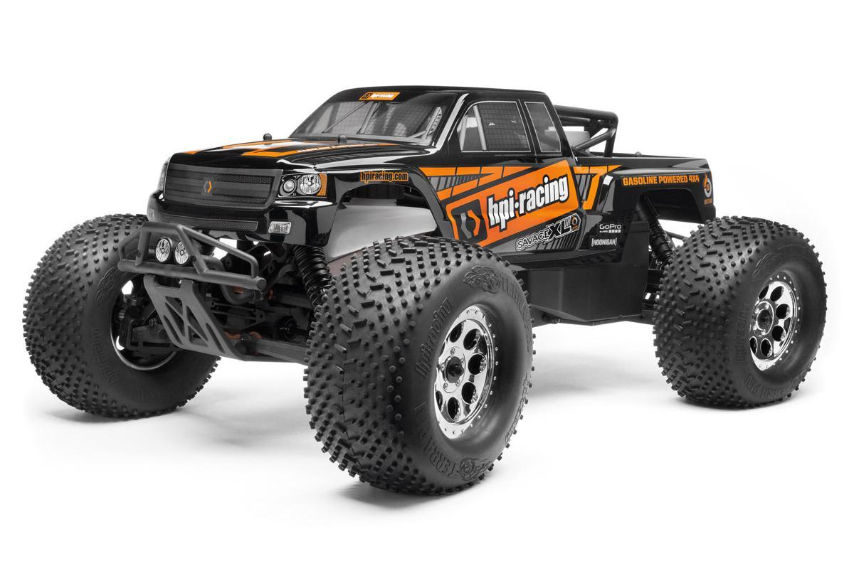HPI Racing Радиоуправляемая машина Монстр 1/8 - Savage XL Octane - Бензиновый двигатель OS