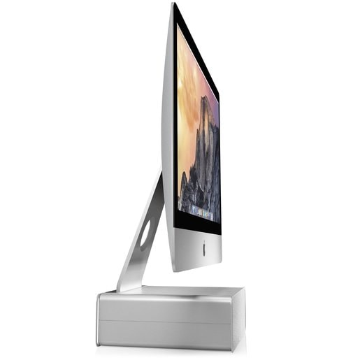Подставка Twelve South HiRise для iMac, Cinema Display. Материал: сталь. Цвет: серебряный.
