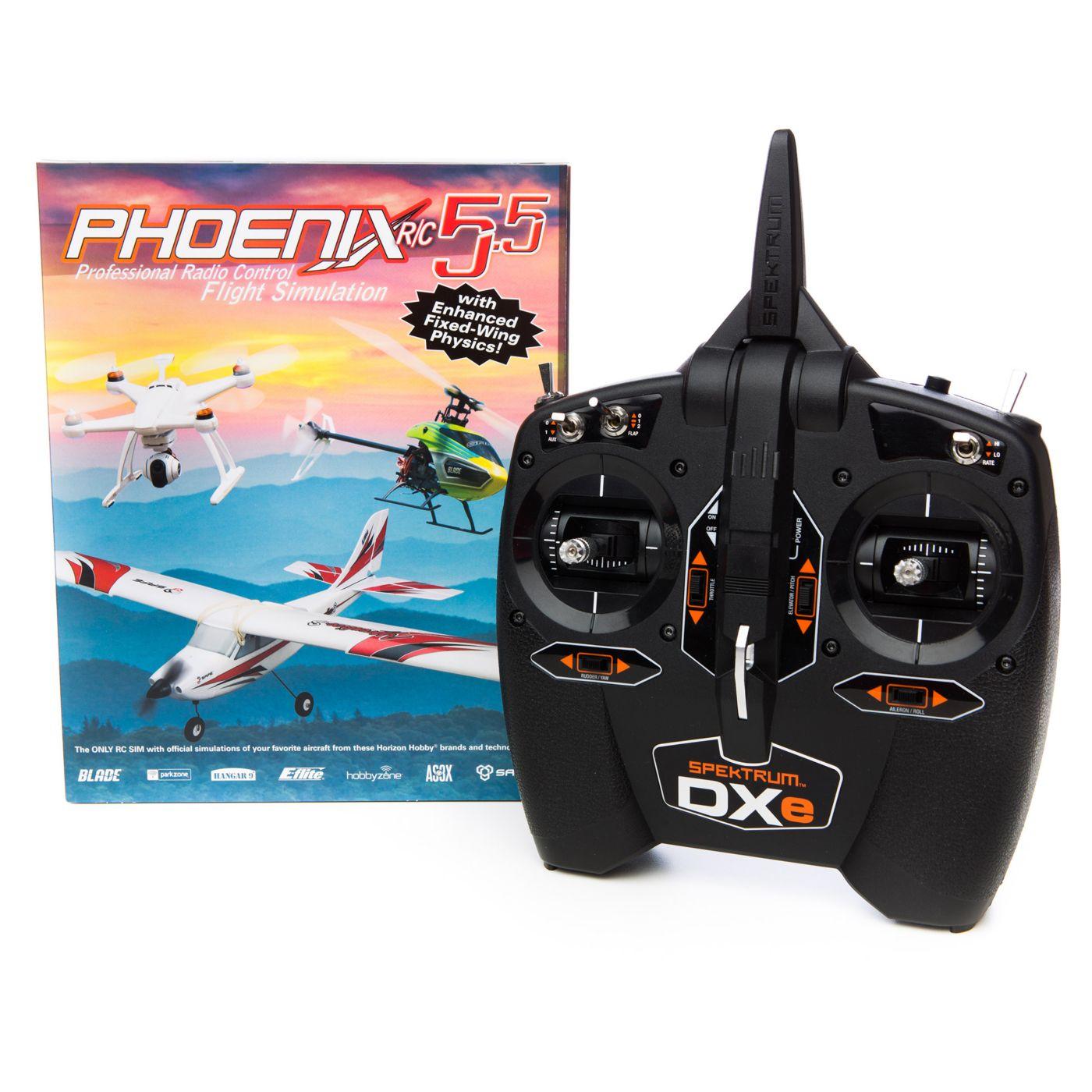 Phoenix Симулятор - Phoenix R/C Pro V5.5 (комплект с DXE)