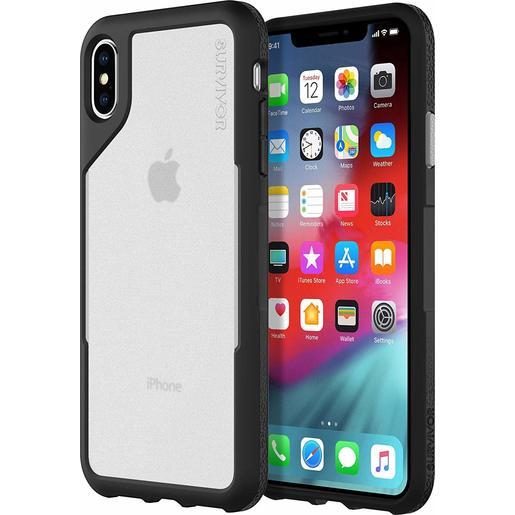 Чехол защитный Griffin Survivor Endurance для iPhone XS Max. Материал пластик. Цвет черный/серый.