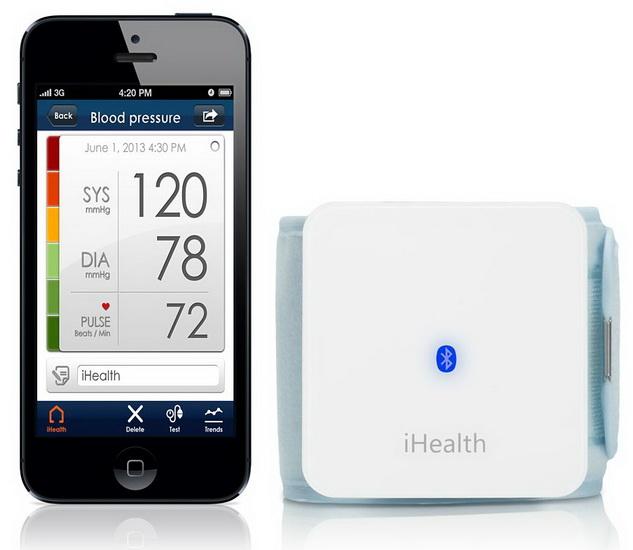 Тонометр на запястье iHealth Wireless Blood Pressure Wrist Monitor BP7 для iPhone/iPod/iPad