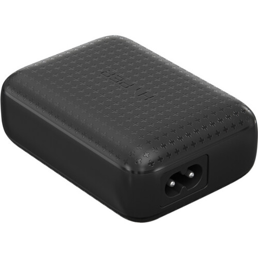 USB-C хаб Hyper HyperDrive 60W USB-C Power Hub для Nintendo Switch и USB-С устройств. Порты: HDMI 4K60Hz, USB-A 7.5W 5Gbps, USB-C 18W PD, USB-C 45W PD 10Gbps. Цвет: черный.
