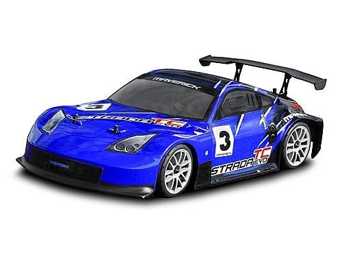 Maverick (HPI UK) Радиоуправляемая машина Туринг 1/10 Maverick Strada TC Evo 2.4gHz (электро/полный комплект)