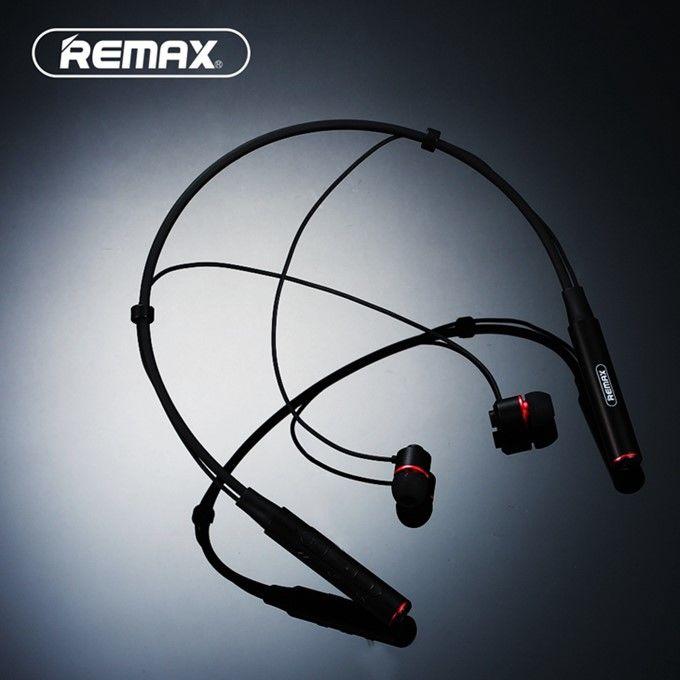 Спортивные стереонаушники REMAX Neckband с Bluetooth (черный)