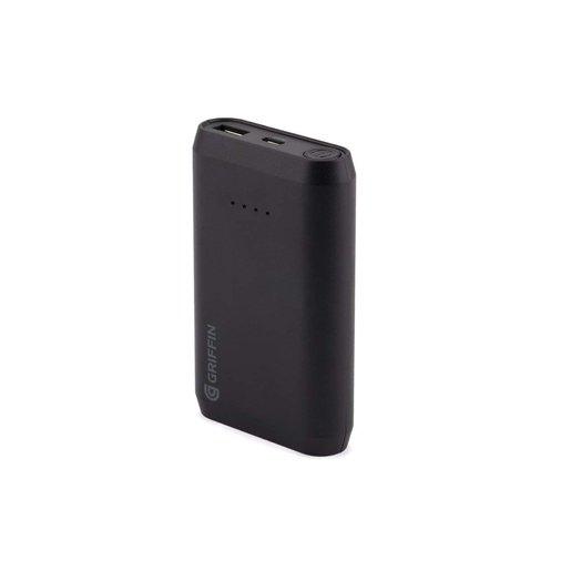 Портативный аккумулятор для мобильных устройств Griffin Reserve Power Bank. Емкость 10000 мАч. Цвет черный.