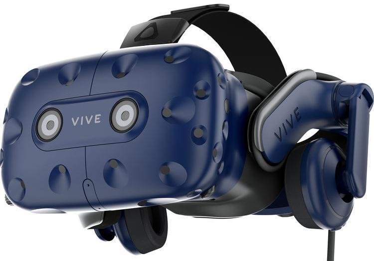 Шлем виртуальной реальности HTC VIVE Pro HMD (Blue)