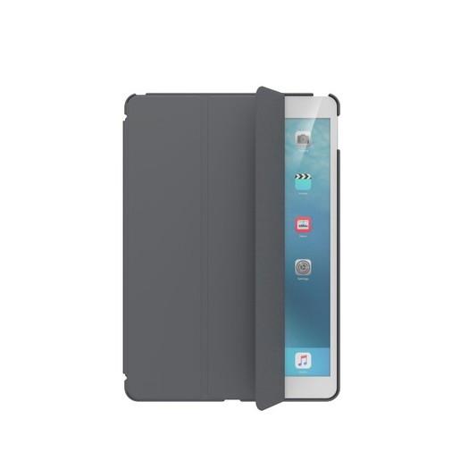 "Чехол SwitchEasy CoverBuddy для iPad 10.2"". Материал полиуретан. Цвет темно серый."