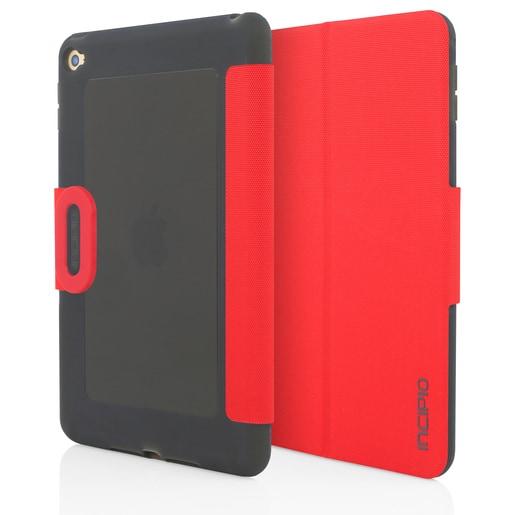 Incipio Clarion Folio для iPad mini 4. Материал пластик/TPU. Цвет красный/черный/серый.