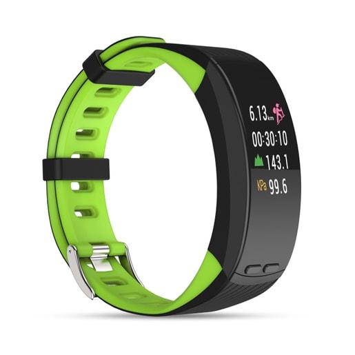 Qumann QSB X Black-Green Фитнес браслет