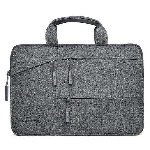 """Сумка Satechi Water-Resistant Laptop Carrying Case для ноутбуков до 15"""" дюймов. Материал нейлон. Цвет серый."""