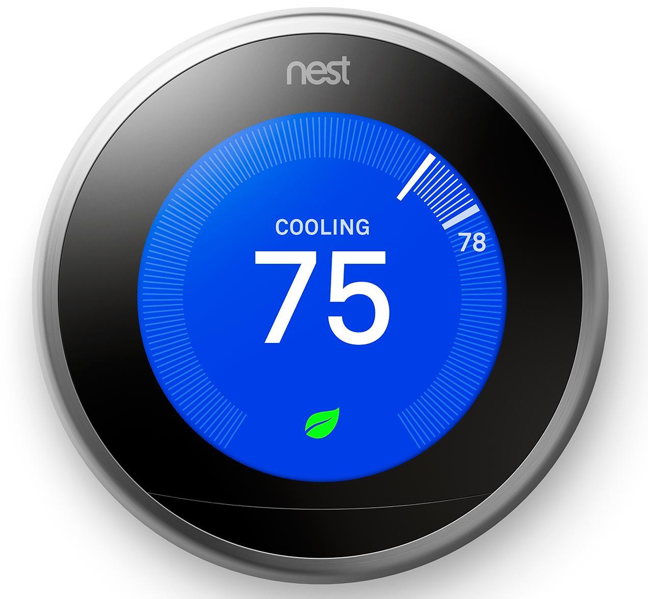 Nest Learning Thermostat 3.0 - беспроводной термостат (White)