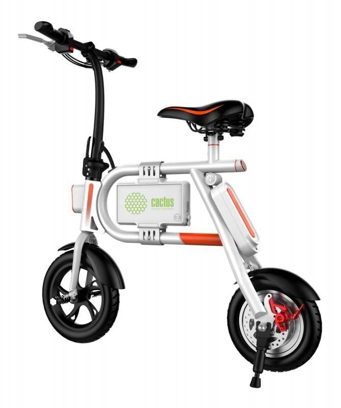 Электровелосипед Cactus CS-EBIKE-P1_WT 4400mAh, белый