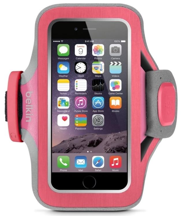 Belkin Slim-fit Plus Armband (F8W299vfC01) - спортивный чехол для iPhone iPhone 5/5S (Pink)