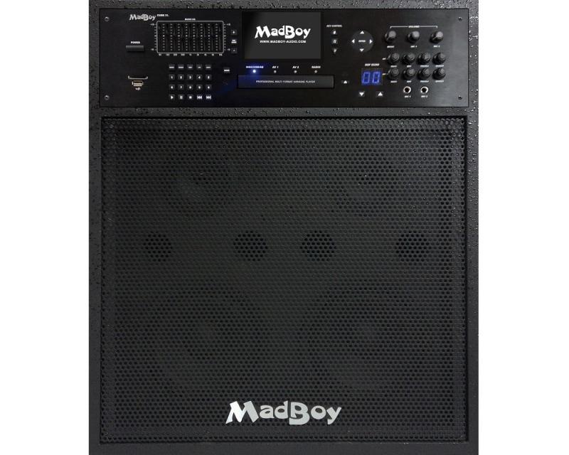 Караоке-центр Madboy CUBE XL, черный