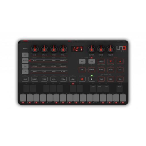 IK Multimedia UNO Synth портативный монофонический аналоговый синтезатор